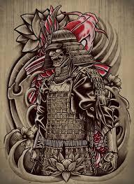 Samurai Koi Art Print Mas