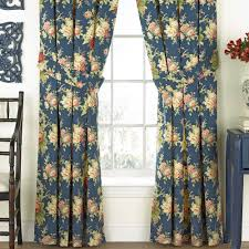 Waverly Curtains And Drapes by Sanctuary Rose Floral Window Treatment By Waverly