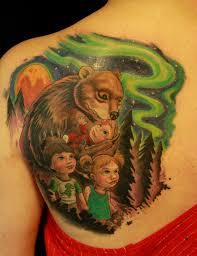 Momma Bear By Tim Senecal TattooNOW