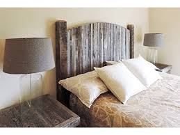 Farmhouse Style Arched Queen Bed Barn Wood Headboard W Narrow Rustic Reclaimed Slats