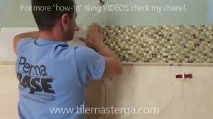 part 3 how to install travertine tile mosaic accent with border