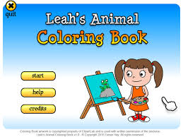 Download Leahs Animal Coloring Book