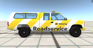 100 Road Service Truck AA Service BeamNG