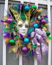 112 best mardi gras wreaths images on pinterest mardi gras