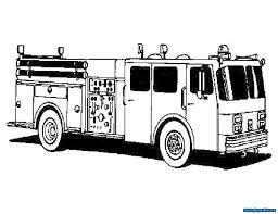 Printable Fire Truck Coloring Page | Coloring Pages For Kids