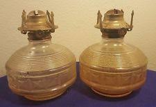 Lamplight Farms Oil Lamps Made In Thailand by Vintage Lamplight Farms Oil Lamps Ebay