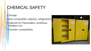 Flammable Safety Cabinets Used by Safety In Academic Chemistry Laboratories Ppt Video Online Download