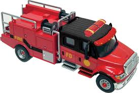 100 Black Fire Truck Amazoncom INTERNATIONALR 7600 2AXLE CREWCAB BRUSH FIRE TRUCK