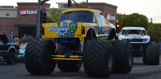 100 Monster Monster Truck Trucks Parade Through Downtown Red Bluff Red Bluff