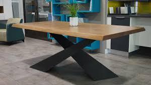table de cuisine en bois massif table cuisine bois brut table basse bois bateau recycle en bois
