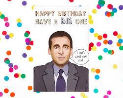 Jim Halpert Halloween Facebook by Michael Scott The Office Tv Show Birthday Card Dwight