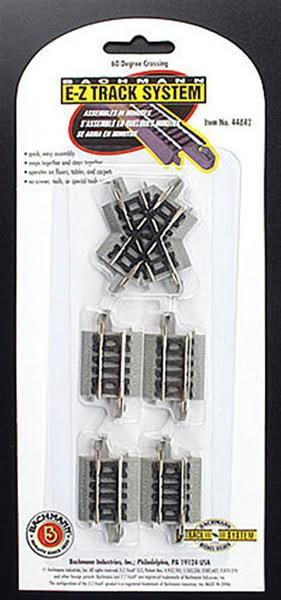 Bachmann 60 Degree Crossing - N Scale 44842