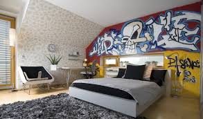 tapisserie pour chambre ado le style graffiti pour une chambre d ado trouver des idées