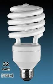 32w cfl spiral high wattage 125 elightful canada