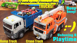 100 Toy Trucks Youtube Overview Vehicles And Vans Disney Vehicles Pushed Dump