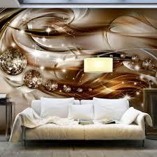details zu vlies fototapete ornamente gold diamant 3d optik tapete schlafzimmer wandbilder