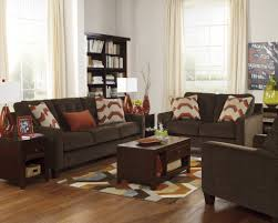 Brown Couch Living Room Ideas by Living Room Chocolate Fabric Sofa Elegant Living Room Furniture