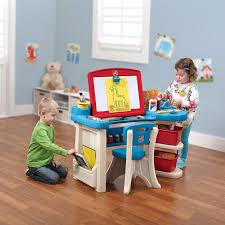 Step2 Deluxe Art Desk With Splat Mat by Step2 Deluxe Art Master Desk Desks Furniture
