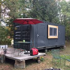 100 Shipping Containers For Sale New York Converted Shipping Container For Sale Great For Guests Office Camp Tiny House For In Saranac Lake Tiny House Listings