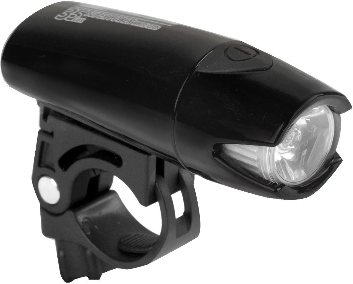 Smart Headlight LED Rechargeable Black