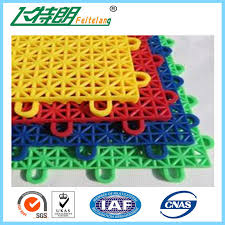 portable recycled rubber tile interlocking flooring outdoor