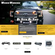 Online Store | Wicked Warnings | Vehicle Warning And Safety Lighting
