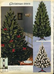 Sears Artificial Christmas Trees by Artificial Christmas Trees A Vintage Catalog Extravaganza