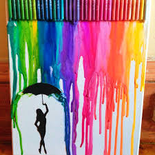 Cute Twist On Crayon Melting Project