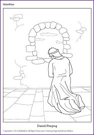 Coloring Daniel Praying