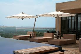 Large Cantilever Patio Umbrella by Cantilever Patio Umbrella Large Outdoor Square U0026 Round Umbrellas