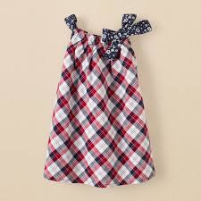 newborn girls americana plaid dress children u0027s clothing