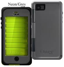 OtterBox Armor Case for iPhone 5 and 5S Neon Gray Design Ultimate Pr