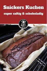 snickers kuchen saftig schokoladig snickers