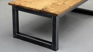 The Blacksmith Coffee Table Industrial Coffee Tables Steel Vintage