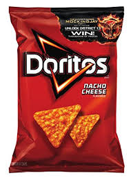 Doritos Tortilla Chips Party Size Nacho Cheese 16 Oz