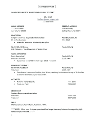 Good Resume Examples For Jobs C V Template First Time Useful Job Example Retail Cv