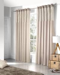 Ebay Curtains With Pelmets Ready Made by Savoy Ready Made Eyelet Curtains Fully Lined Black Cream Red