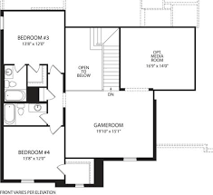 Drees Homes Floor Plans by Tanner At Union Park Little Elm Tx