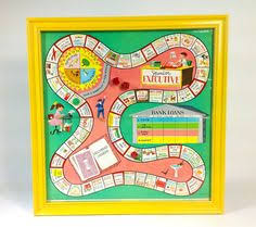 This Is An Old Board Game From My Classroom Wouldnt It Look Cool Framed In A Kitchen Or Something