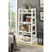 South Shore Morgan Storage Cabinet Black by Convenience Concepts Designs2go 4 Tier Trestle Bookcase Free