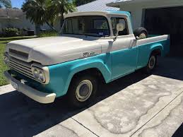 Daily Turismo: 3 On The Tree: 1959 Ford F100 1958 To 1960 Ford F100 For Sale On Classiccarscom 1959 Panel Van Chevrolet Apache Retyrd Photo Image Gallery Sold Custom Cab For Sale Nice Project Pickup Truck Stock Royalty Free 139828902 Cruisin Smooth In This Fordtruckscom Chevy 350 Runs Classic Other Hot Rod Network Big Window Short Bed File1959 Flareside Truckjpg Wikimedia Commons 341 Truck Zone 8jpg 32642448 Blue Oval 571960