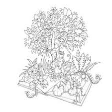 Magical Jungle An Inky Expedition Colouring Book Books