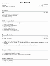 Resume Examples For Jobs With Little Experience Funky Munity College Example Image Of