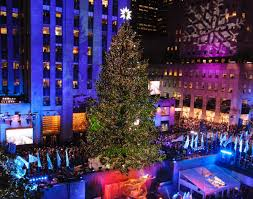 Rockefeller Center Christmas Tree Lighting 2014 Live by 2014 Christmas Tree Lighting Nyc Rainforest Islands Ferry