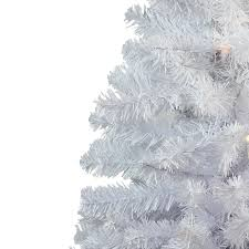 Unlit Artificial Christmas Trees Made In Usa by Amazon Com 3 U0027 Snow White Pine Artificial Christmas Tree Unlit