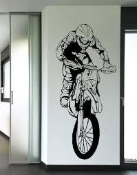 vinyl wall decal sticker motocross os aa196