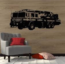 100 Fire Truck Wall Decals Decal Engine Truck Boys Room Vinyl