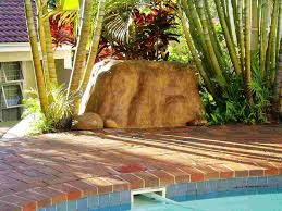 Decorative Outdoor Well Pump Covers by Rock Finish Pool Pump Covers Riverrock Co Za