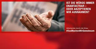 caritas in deutschland not sehen und handeln