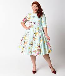 cute plus size retro dresses for sale retro dress mint green
